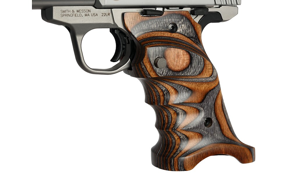 910 sw22 grips in brown grey