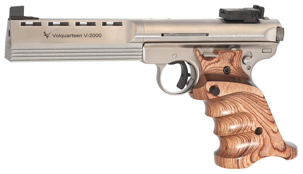 V-2000 with Brown Laminated Wood Grips | Volquartsen Firearms